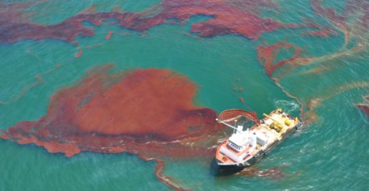 In 2010, in an event now known as the Deepwater Horizon Spill, the Gulf of Mexico's fragile oceanic ecosystem became severely polluted with approximately 4.9 million barrels of oil